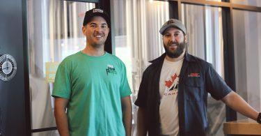 Jake Saunders and Dan Mason