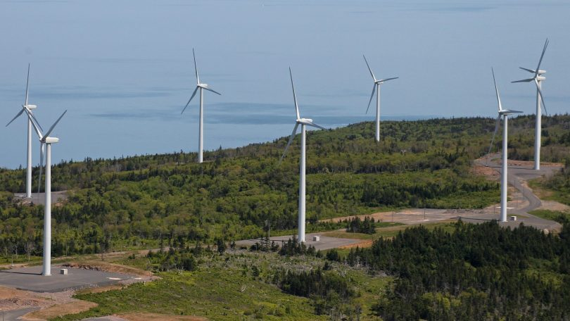 Digby Neck wind farm