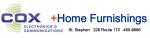 Cox Electronics + Home Furnishings